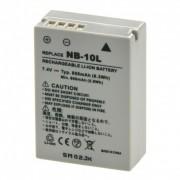 Power3000 PL802G-365 - acumulator replace tip Canon NB-10L, 850mAh