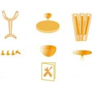Ersatzteile für Deckenventilator Maribel 50555 Bronze