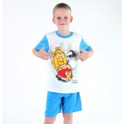 pizsama boys Tv MANIA - Angry Birds - White - SWAB 330