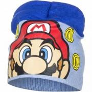 Super Mario muts licht blauw voor jongens