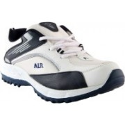 Shoe Island Sturdy White 'n' Blue Sport Shoes Training & Gym Shoes For Men(White)