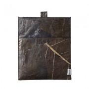 Aveva Design Fodral för läsplatta Aveva Leaf 26x22 cm, Mörkbrun