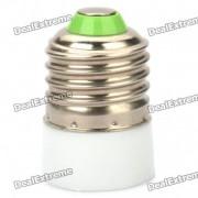 E14 E27 hembra a macho adaptador de luz de lampara Bombilla Convertidor