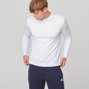Myprotein Maglietta classica a maniche lunghe Luxe - XXL - Bianco