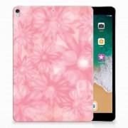 B2Ctelecom Apple iPad Pro 10.5 Siliconen Hoesje Spring Flowers