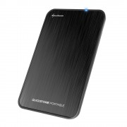 Sharkoon QuickStore Portable USB3.1 Black 4044951017416