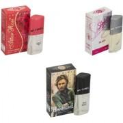 Skyedventures Set of 3 Attar Rose-Hello Handsome-Sharlin silver