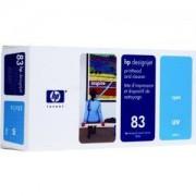HP No 83 UV Глава цветна, Cyan + почистващ кит (HP DesignJet 5000 or 5000PS printers) - C4961A