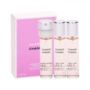 Chanel Chance Eau Vive eau de toilette ricarica 3x20 ml donna