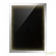 Oglinda cu iluminat LED efect tunel infinit si protectie IP44, 60x80cm Mara 84017 GL