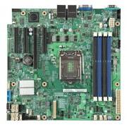 "Intel DBS1200SPLR ""Silver Pass"" S1200SP Single Processor Xeon SATA Server Motherboard (uATX)"