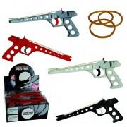 Gumičková pistole 007 - bílá