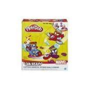 Conjunto Play-doh Marvel Veículo Hasbro