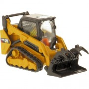 Caterpillar Cat 259D Compact Track Loader 85526 by Diecast Masters