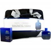 Set Maleta Lacoste Magnetic 2Pzs : 100 Ml Eau De Toilette Spray + Maleta 1Pz De Lacoste