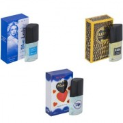 Skyedventures Set of 3 Blue Lady-Kabra Yellow-Younge Heart Blue Perfume