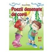 Poezii desenate de copii 5-7 ani.