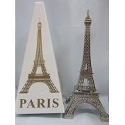 "2pc Siver Paris Eiffel Tower 6"" Miniature Display (B57) US SELLER SHIP FAST"