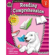 Ready-Set-Learn: Reading Comprehension, Grade 1 'With 150+ Stickers', Paperback/Teacher Created Resources