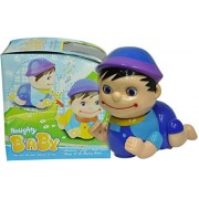 Play Design Musical Naughty Baby boy Lights with Bump and Go Action (Blue)