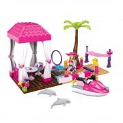 Mega Bloks Barbie Statiunea Tropicala