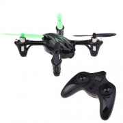 Hubsan X4 H107c 2.4g Rc Rtf Quadcopter With 0.3mp Hd Camera Green Black