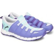 Puma Osu v4 Wn's DP Running Shoes For Women(Blue, White, Purple)