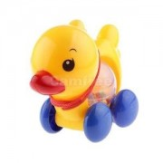 Alcoa Prime Wind Up Baby Learn Walk Toy Fun Plastic Drag Duck Toddler Baby Classic Toys
