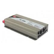 Invertor tensiune 12V-230V 1000W Mean Well sinusoida pura