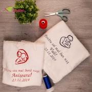 Prosop Personalizat - Cadou Pentru Nași