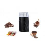 Rasinta pentru cafea si condimente Zass ZCG 03, 200W, 90g, 2 cutite