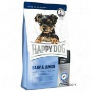 Happy Dog Supreme Mini Baby & Junior - Pachet economic 3 x 4 kg