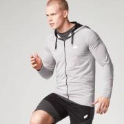 Myprotein Performance Shirt met rits - XL - Grijs