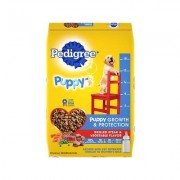Pedigree Puppy Growth & Protection Grilled Steak & Vegetable Flavor Dry Dog Food, 16.3-lb bag