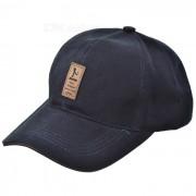 unisex gorra de beisbol al aire libre deportes ocasionales del algodon - azul violaceo