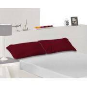 Kussensloop Tencel Bordeaux Rood, 70cm
