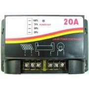 Controller / Regulator de incarcare Ptr. Panouri Solare, Fotovoltaice - 20 A