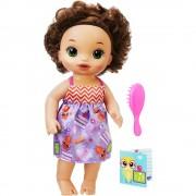 Boneca Baby Alive Morena Hasbro Escolinha Ref-b7224