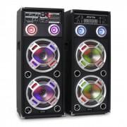 Skytec KA-210 set altoparlanti attivi karaoke USB SD