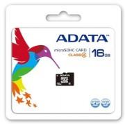 MEM MICRO SDHC 16GB ADATA CL4 + ADAPT