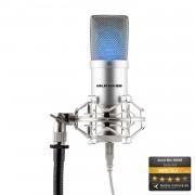 Auna Pro MIC-900 S -LED, сребро, USB Studio микрофон, LED (HKMIC-900-S-LED)