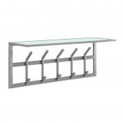 LUMZ Design kapstok van RVS en matglas