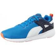 Puma Men's Aril Blaze Puma Royal and Puma White Running Shoes - 9 UK/India (43 EU)