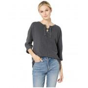 Jag Jeans Debbie Lace-Up Shirt Black