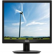 Monitor LED Philips 17S4LSB 17 inch 5ms Black