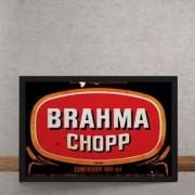 Quadro Decorativo Brahma Chopp 25x35