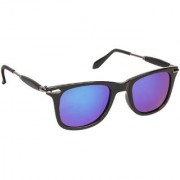 Arzonai Stone Boss MA-038-S9 Wayfarer Unisex Blue Sunglasses