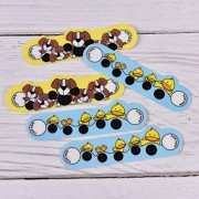 Alcoa Prime 5Pc Baby Kid Forehead Cartoon Strip Head Thermometer Fever Body Temperature P&T