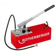 Pompa testare presiune instalatii RP 50-S Rothenberger , presiune maxima 60 bar , cod 60200