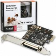 Adaptor AXAGON PCI-Express Adapter 1x Parallel Port + LP